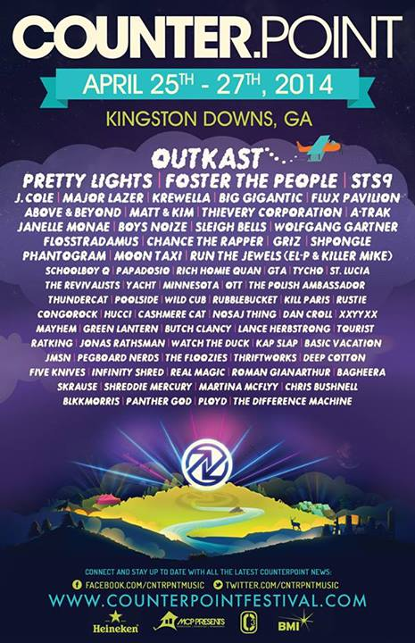 counterpoint music festival 2014 line up