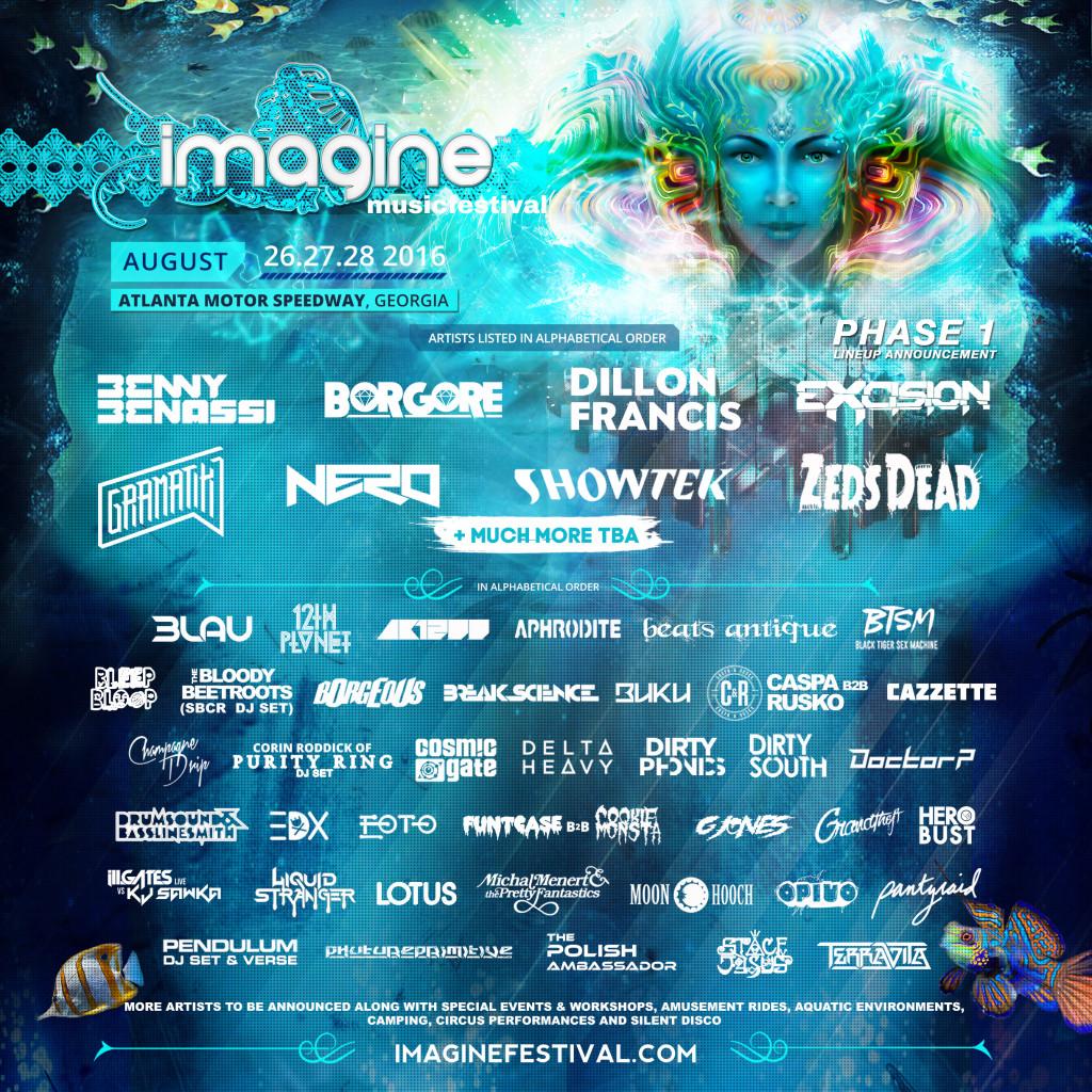Imagine Music Festival 2016 Venue Announcement Ravers Choice