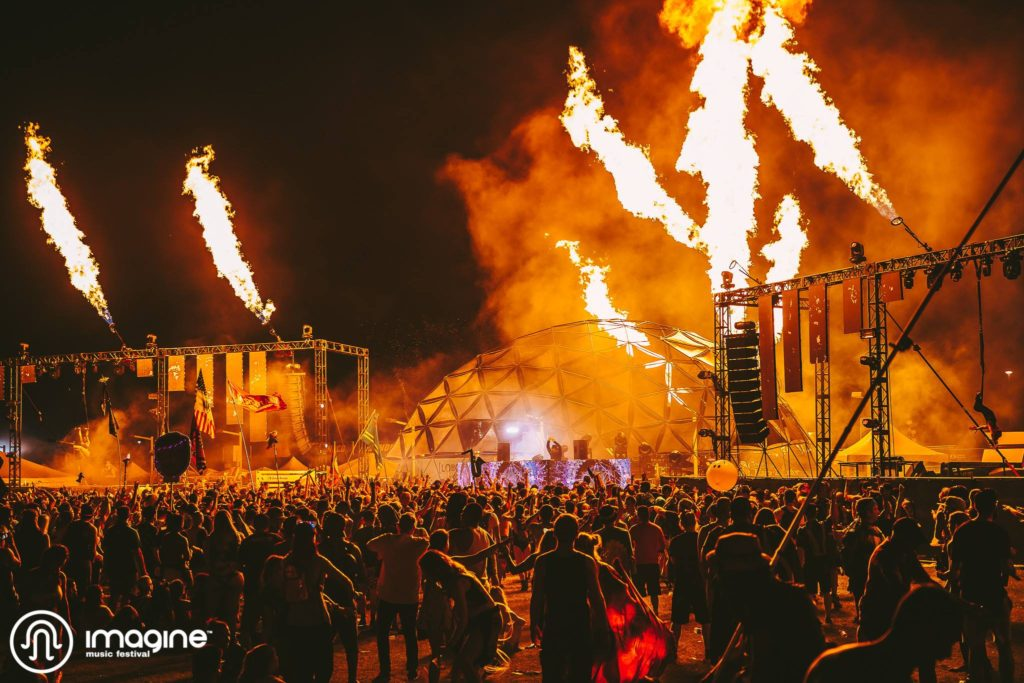 Imagine Music Festival Brings The Heat in Second Year at Atlanta Motor Speedway 3