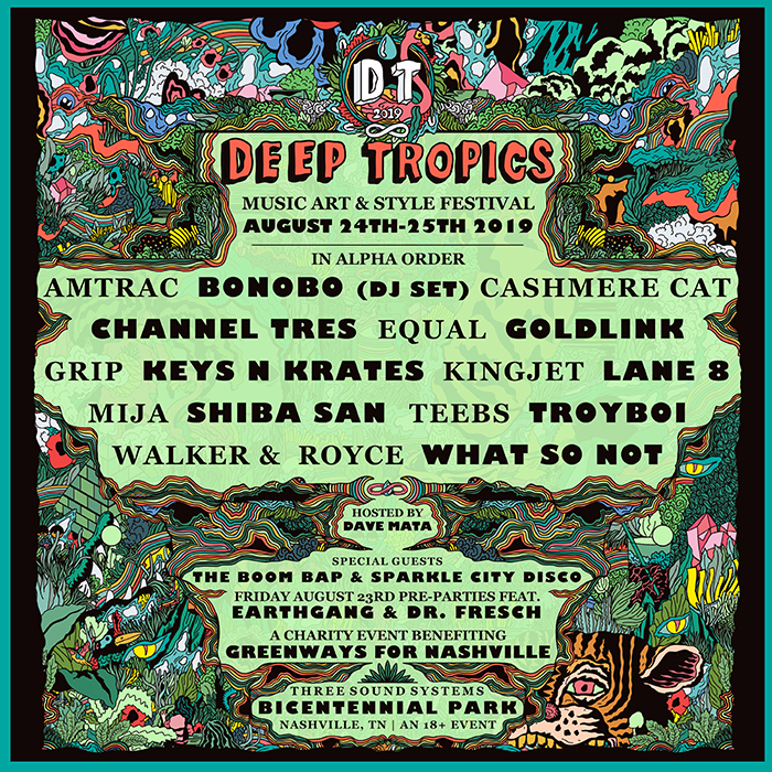 Deep Tropics Music, Art, and Style Festival 1