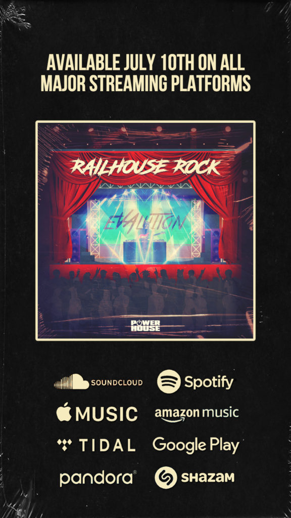 Evalution Releases Railhouse Rock EP on Power House Records (Out Now!) 2